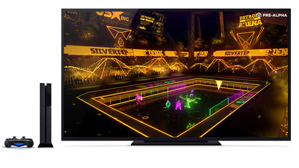 Laser League - game view